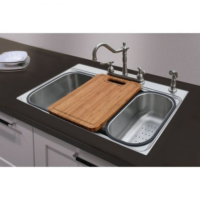 Prep Kitchen Sinks Lowe S Canada Stainless Steel Undermount