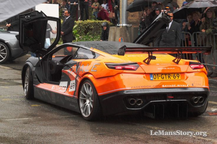 Savage Auto Luxury Car - Savage Rivale GTS at 24H Le Mans Parade