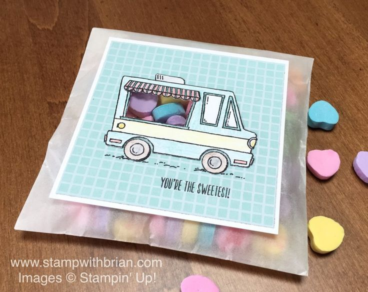 Tasty Trucks, Stampin' Up!, Brian King