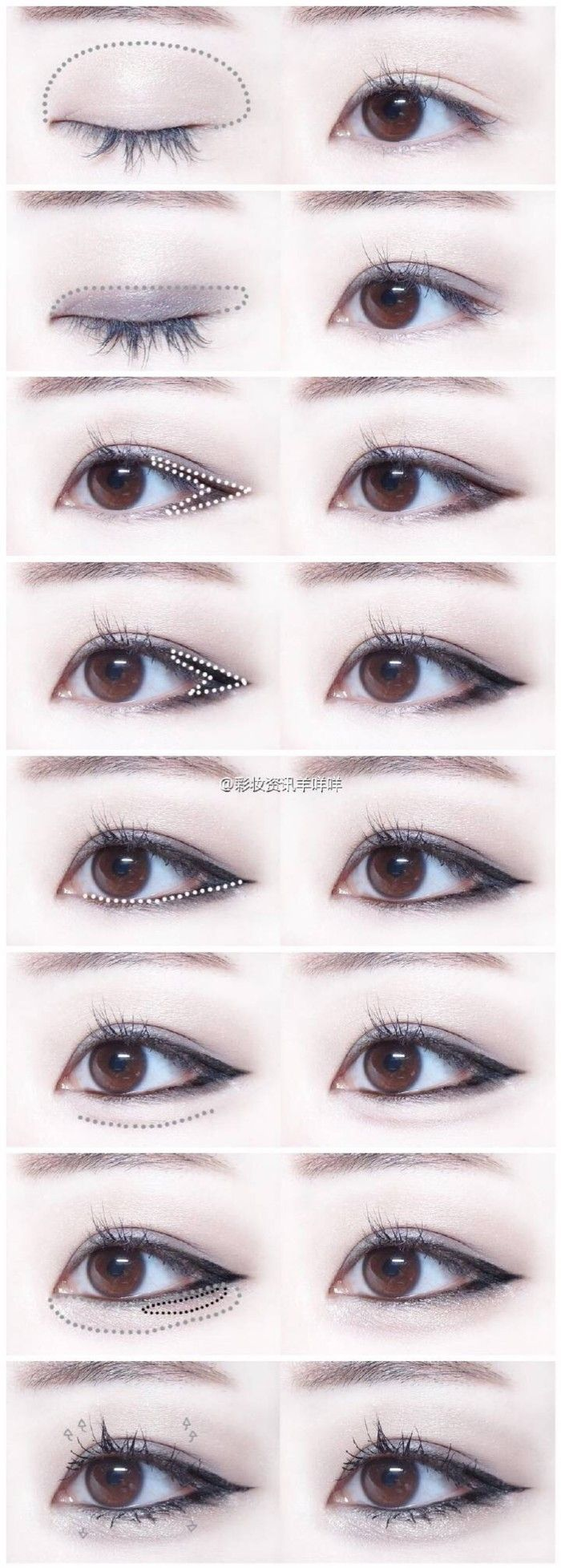 how to make your eyes bigger with eyeliner