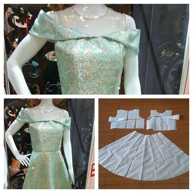 Sabrina bustier dress pattern. Bestseller 😍  Order by line : @modelliste (with @) #modellistepattern#poladress#jualpola#jasapola#polaonline#jasapolaonline#polaonlineshop#polabaju#jualpoladress#jasapembuatanpola#poladresssabrina#sabrinadresspattern#sabrinadress#jacquarddress#jacquard#sabrina