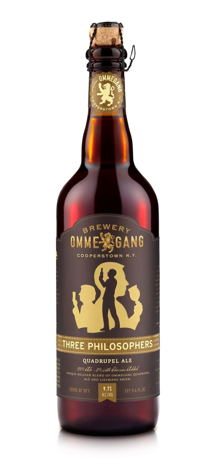 Brewery Ommegang - Three Philosophers. That 2% lambic really kicks it up a notch!