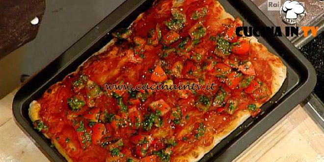 Pizza marinara ricetta Bonci La Prova del Cuoco | Cucina in tv