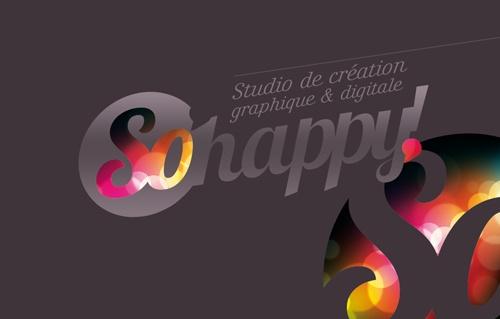 So'Happy! Visual Identity by Soros Olivier , via Behance