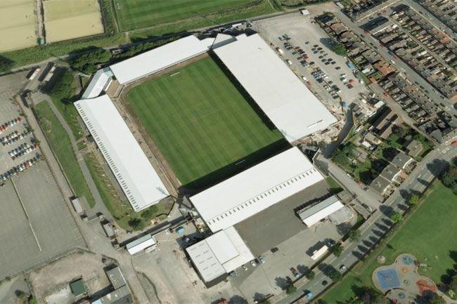 Port Vale F.C. - Vale Park - 19.052 tilskurer