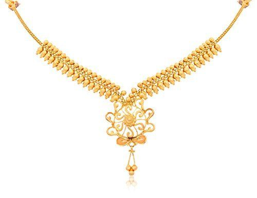 gold yellow chain images on indian traditional pinterest chains marriage necklaces best senco necklace