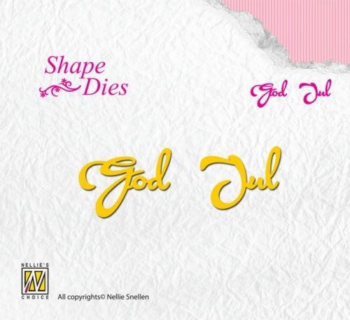 NELLIE SNELLEN - SHAPE DIES SD077 - GOD JUL