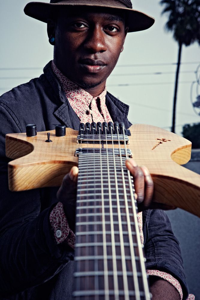 Jonathan Weiner Photography Tosin Abasi Of Animals As Leaders Los Angeles Famous Guitarists Tosin Abasi Music People