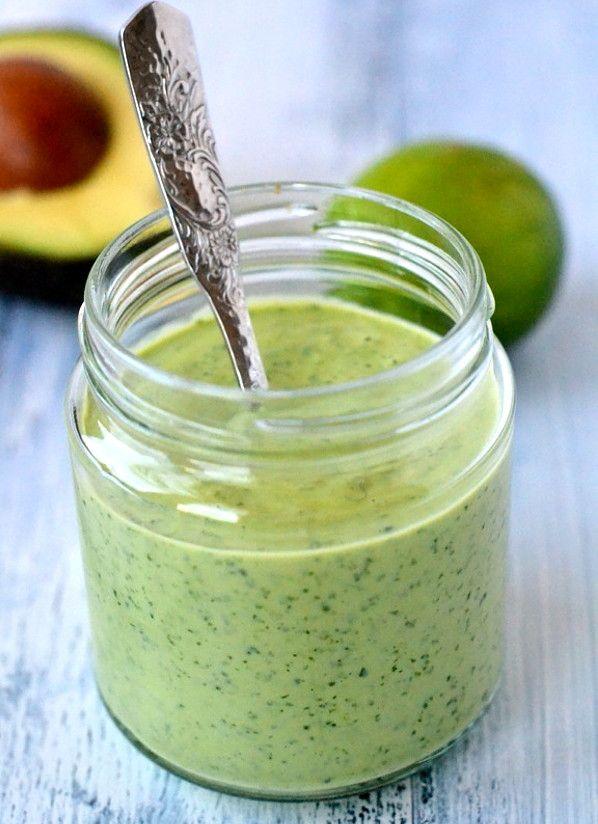 Сливочный соус с авокадо