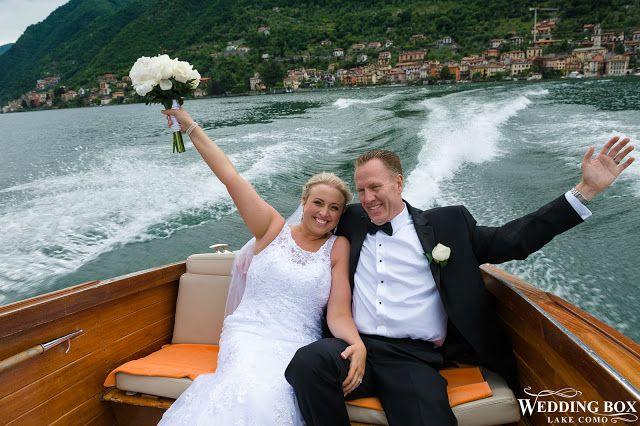 A fun boat ride on Lake Como!