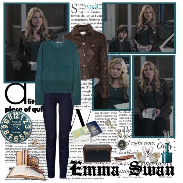 """""""Emma Swan- Of Once Upon A Time"""" by opelazar on Polyvore"""