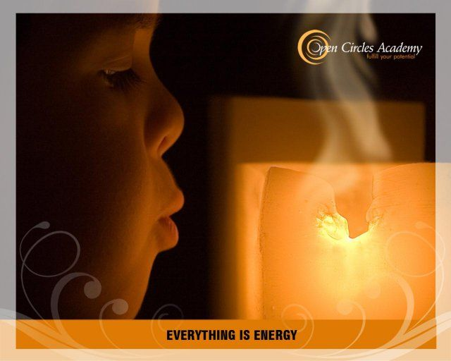 My intention for today is: Everything is energy
