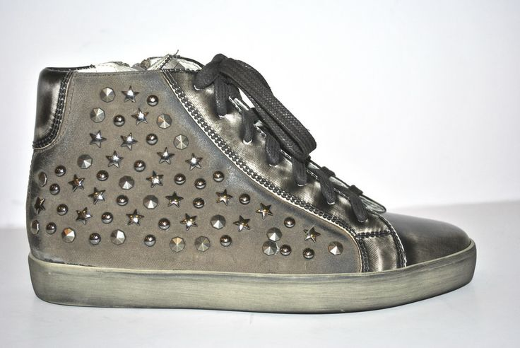 Elena Shoes Made In Italy - Spring Summer Collection - Collezione Primavera Estate - Sneakers - Studs - borchie - Leather shoes - Scarpe in pelle - Fashion - Glamour - SS14 - PE14