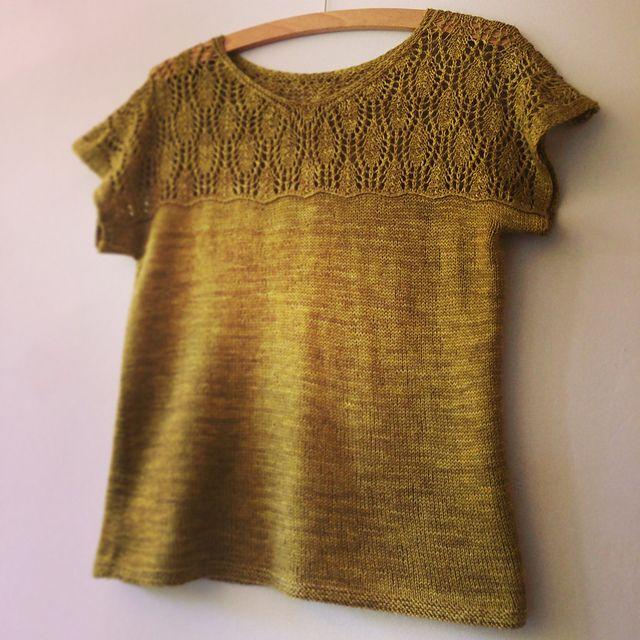 Ravelry: Gemmav's Waterlily | pattern from Pom Pom Quarterly, Issue 8: Spring 2014 | #knitting #lace