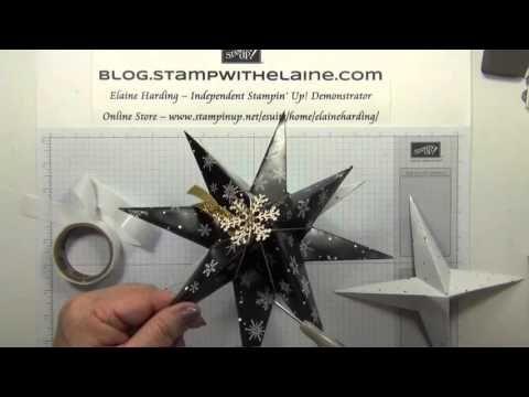 130 Christmas Countdown 2015 #Wk6 Winter Wonderland Stars - YouTube