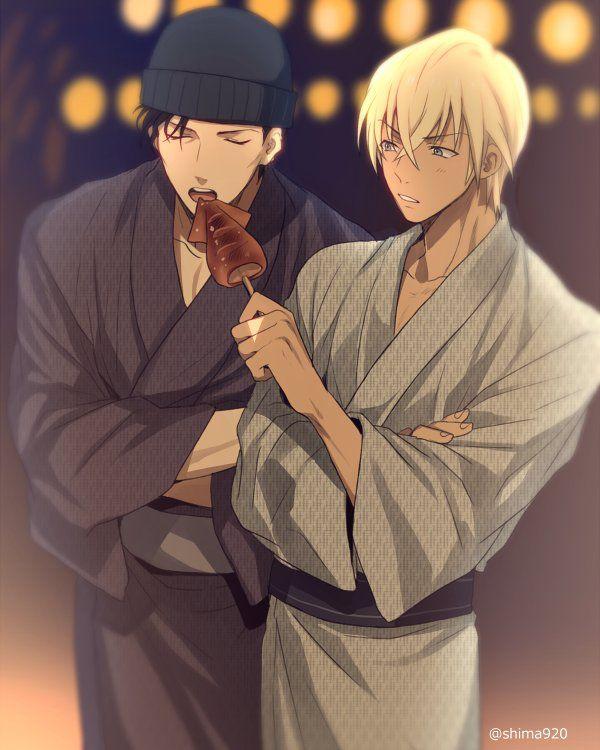 #Conan Akai & Amuro