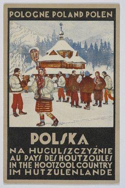Polska, na Huculszczyźnie Pologne, au Pays des Houtzoules.