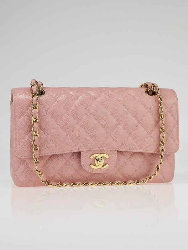 Me!  Me me me me me! **waves hand in air like a crazy person**  Chanel Pink Quilted Caviar Bag