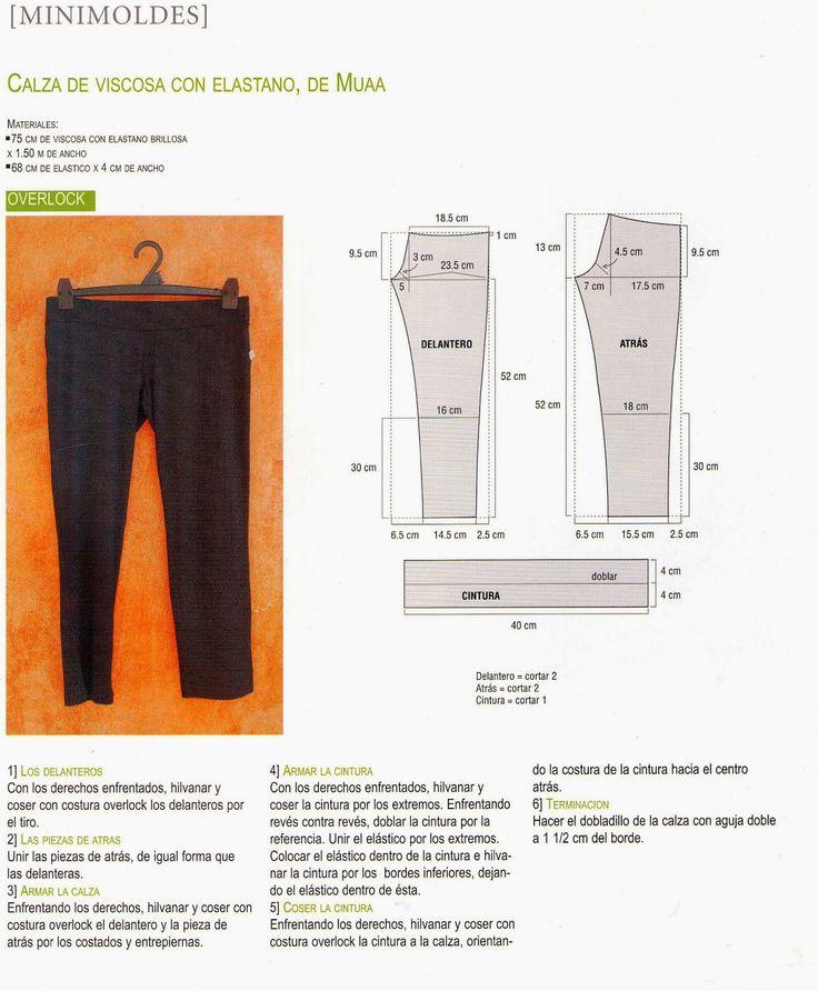 mi blog d costura: como hacer una calza