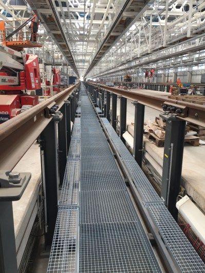 Die Baustelle des neuen ICE-Instandhaltungswerks besucht. Beeindruckend!