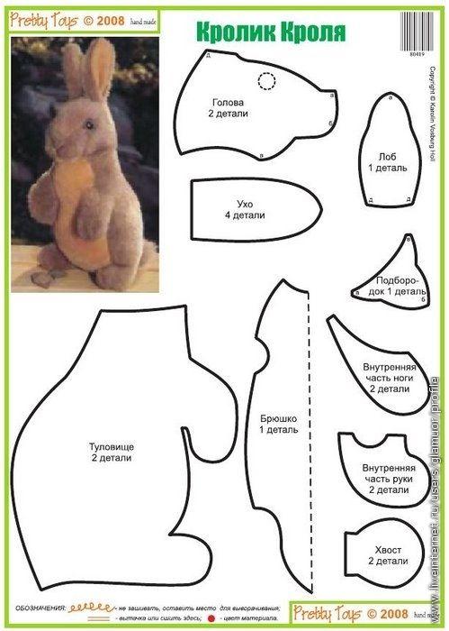 Pretty Toys №10 (выкройки игрушек). Обсуждение на LiveInternet - Российский…