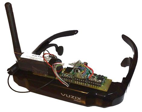 Head-mounted computer with Linux, WiFi