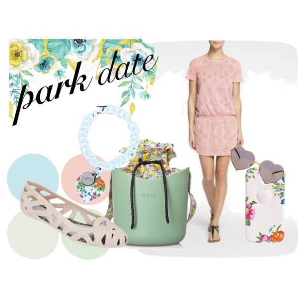 romantic park date by differentcz on Polyvore featuring Wildfox