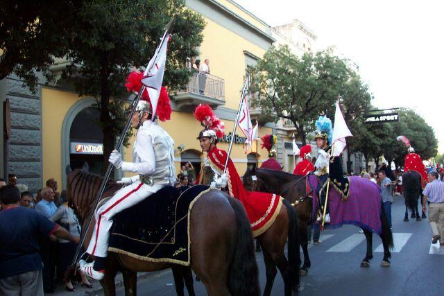 """Cavalieri """"Festa della Bruna"""""""