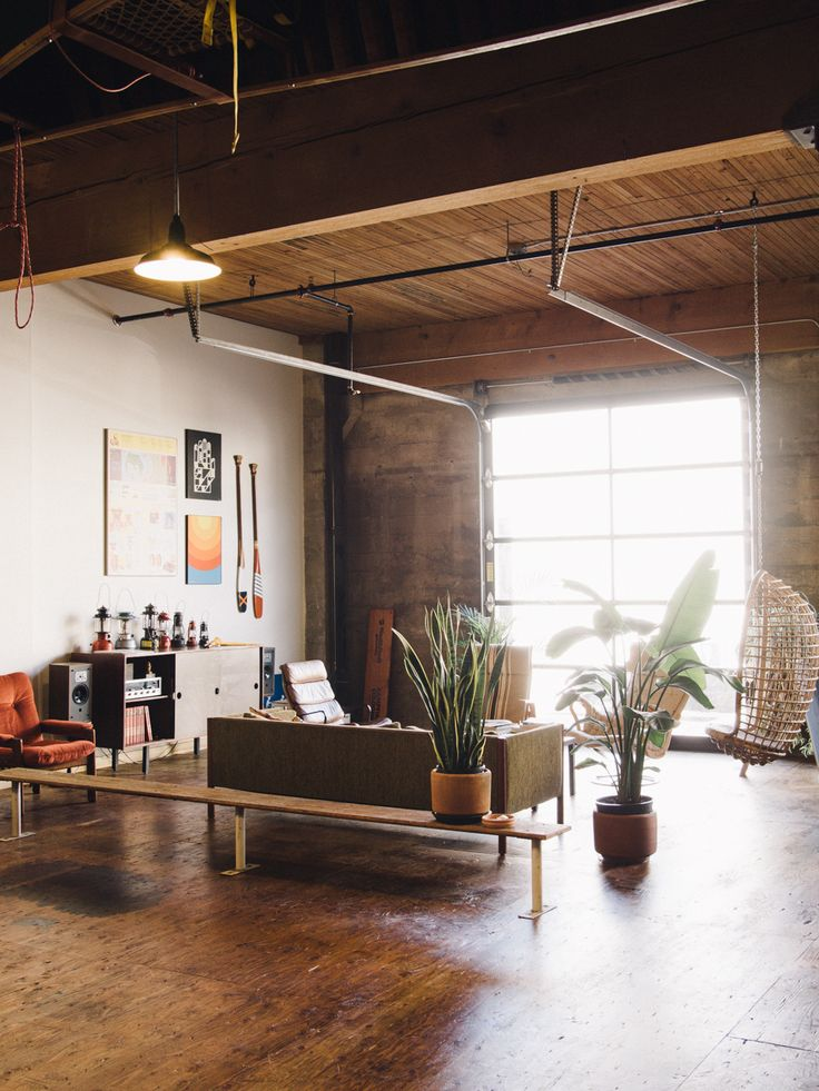 Living room * Wood * Open space