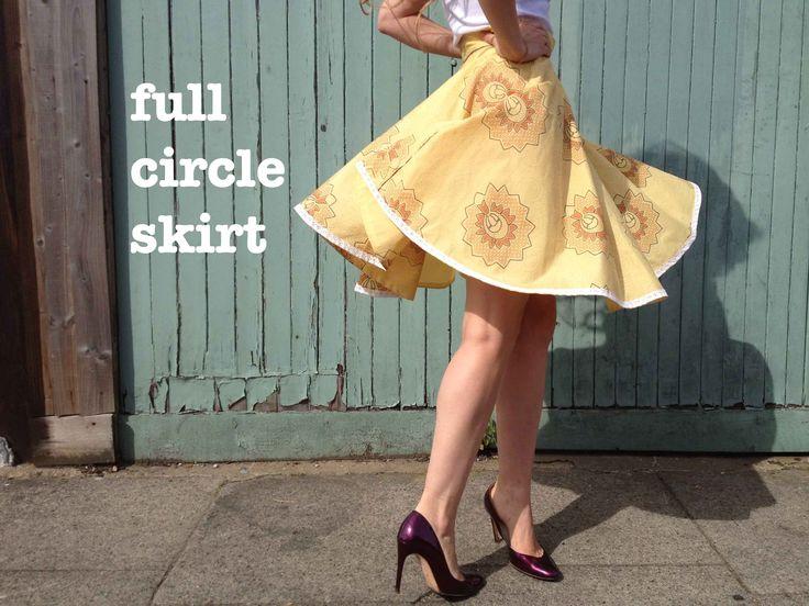 Circle skirt maths – explained!