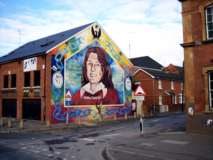 Pin by angie purcell on my travel photos pinterest for Bobby sands mural belfast