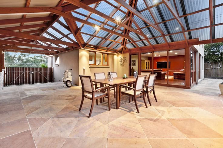 Substantial outdoor entertaining can cope with any family celebration