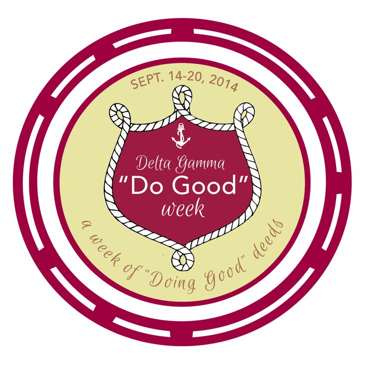 """It's official! Get ready for a week of """"Doing Good!"""""""
