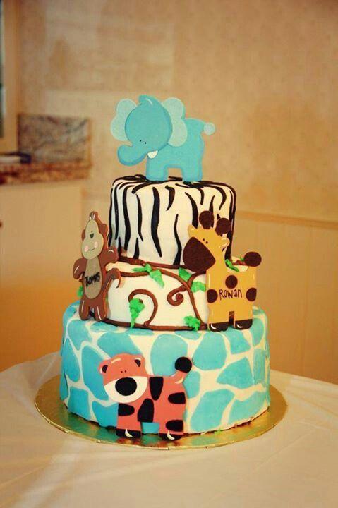 Safari cake | cakes | Pinterest
