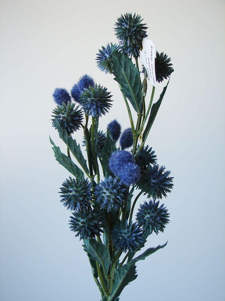 Spectacular Kunstpflanzen k nstliche F rberdistel cm blau Disteln k nstliche Pflanzen neu