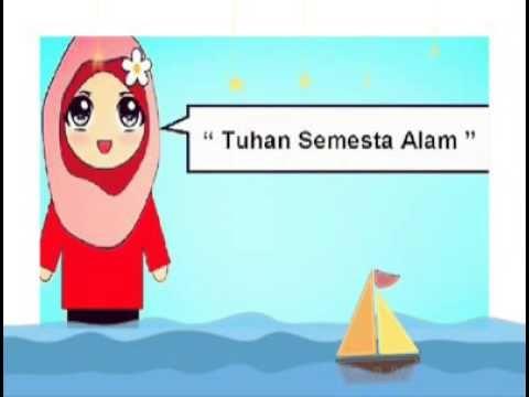 Arti surah Al-Fatihah - song for kids - YouTube