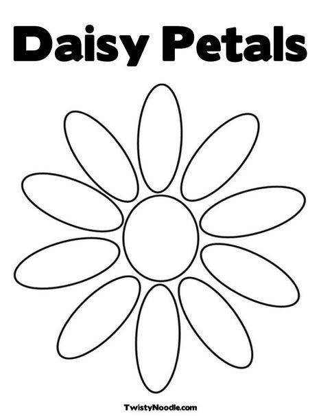 Free Coloring Pages Of 6 Petals