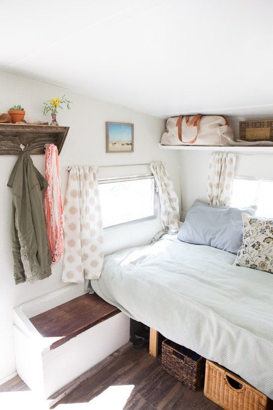 "The ""Sorta Scary to Sweetly Stylish"" Camper Makeover — Decorating & Remodeling Project 