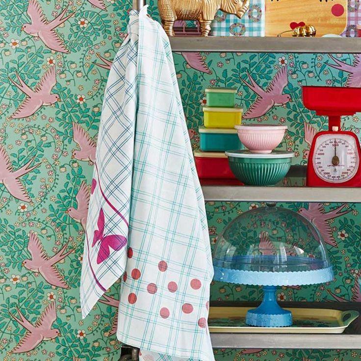 Viac ako 25 najlepších nápadov na Pintereste na tému Küche deko blau - drahtkörbe für küchenschränke