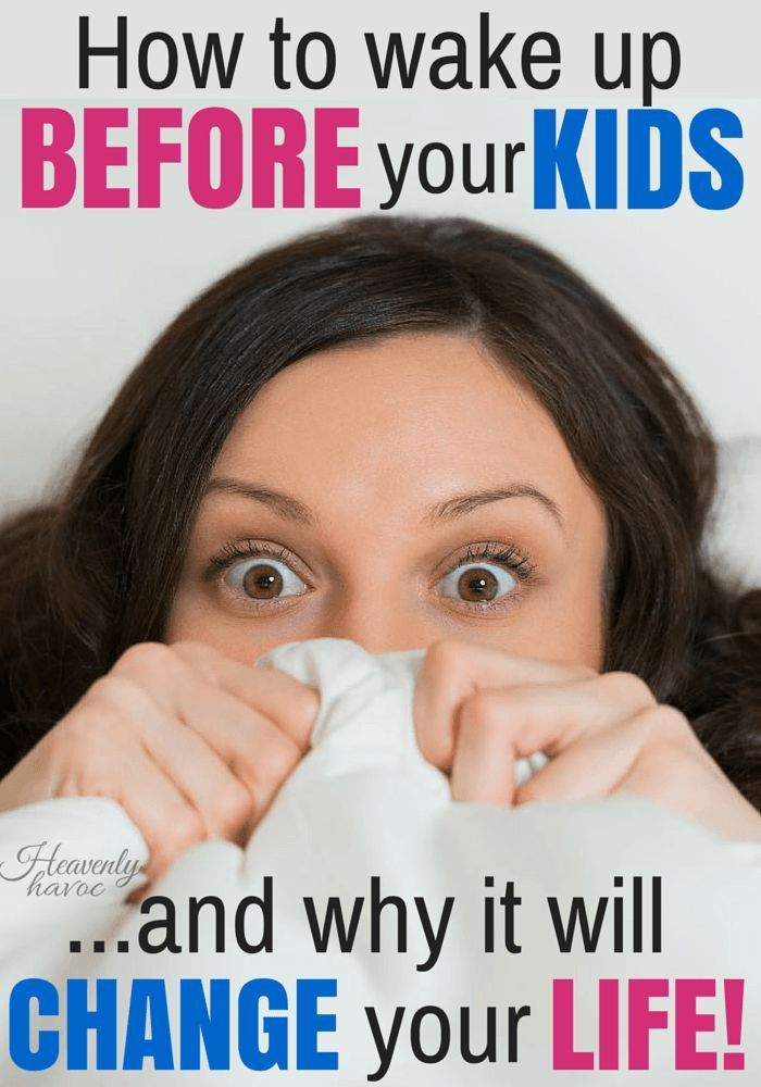 If I could just wake up BEFORE my kids.....will life really get better? A GREAT read for moms who struggle to find time for what THEY want to do!