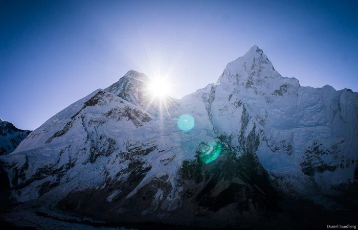 MOUNT EVEREST  by Daniel Sandberg