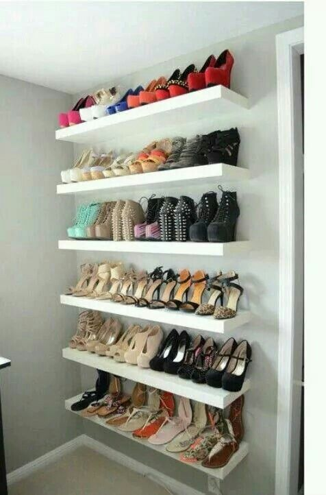 shoe rack for walk im closet
