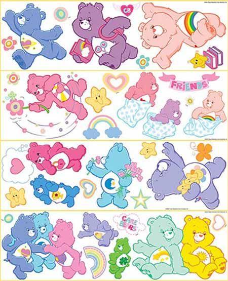 Care Bears Peel and Stick Cutouts ST96400 - Wallpaper & Border | Wallpaper-inc.com