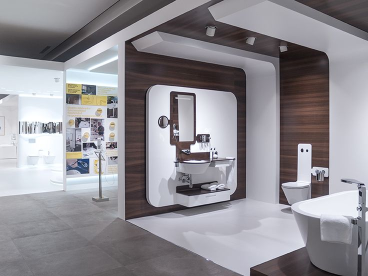 Technology: the focus in #bathroom design by Noken.  Porcelanosa Bathrooms