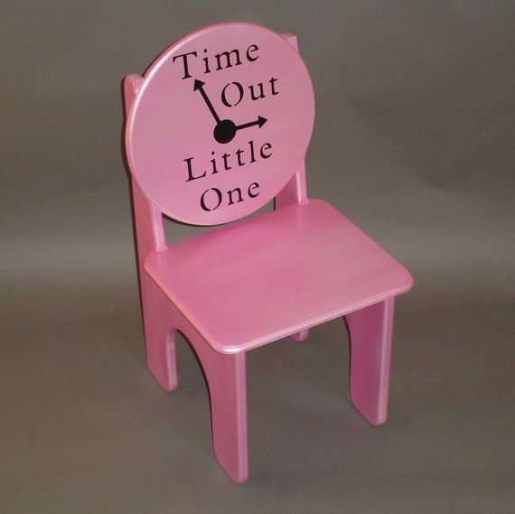 I definitely needed this today...Toddlerhood has arrived....it's time for a Time Out chair.