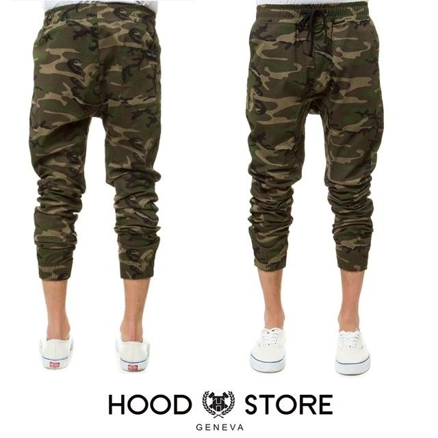 Woodland Camo Jogger pant #HOODSTORE  http://www.thahandmade.com/products/s-d-woodland-camo-jogger-pant