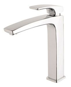 Mixer tap - centred behind basin