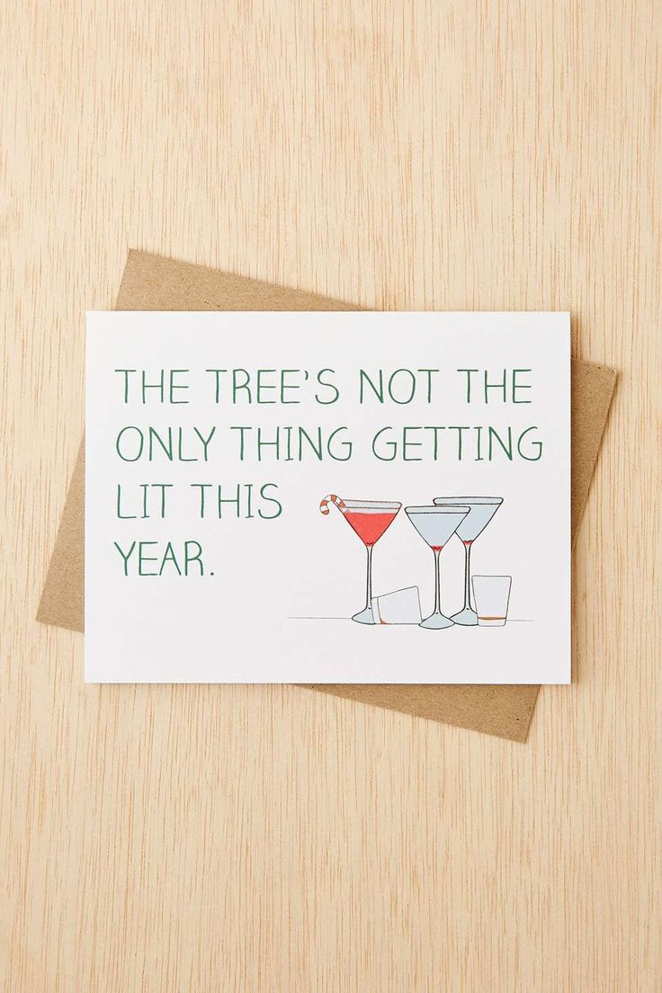 Get LIT | Funny Holiday Cards That Wont Make You Cringe | StyleCaster