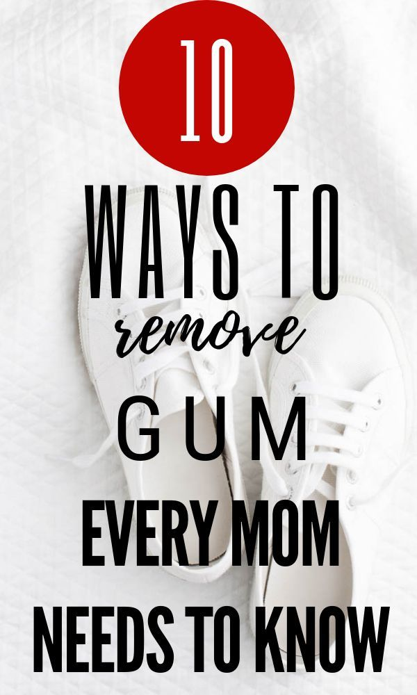 Best Ways To Remove Gum Gum Removal How To Remove Gum