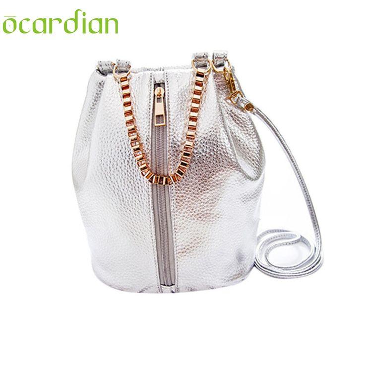 OCARDIAN 2017 Fashion Handbag Leather Shoulder Bags Tote Purse Satchel for Women Bucket Bag gift 1 pcs